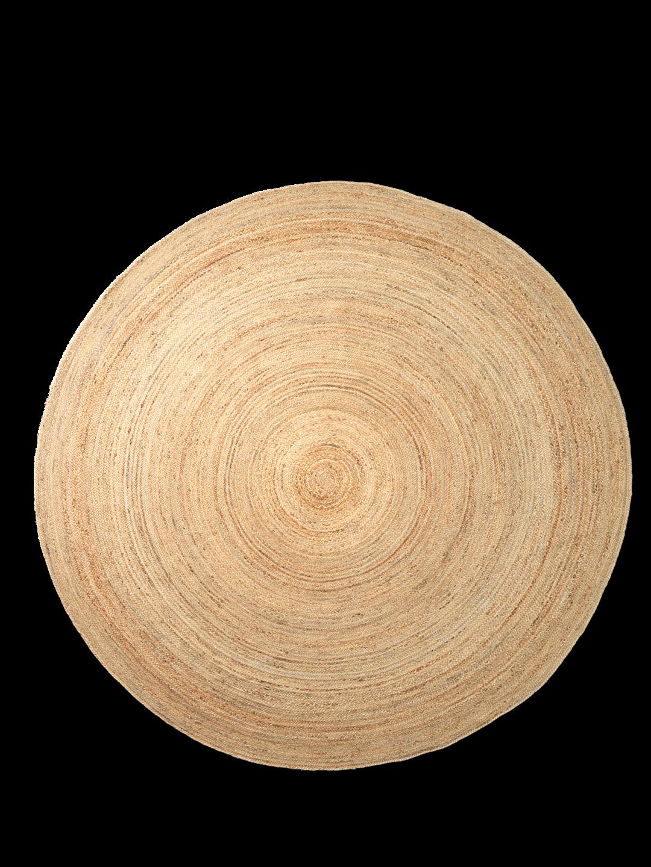 Eternal Round Jute Rug Large - Natural