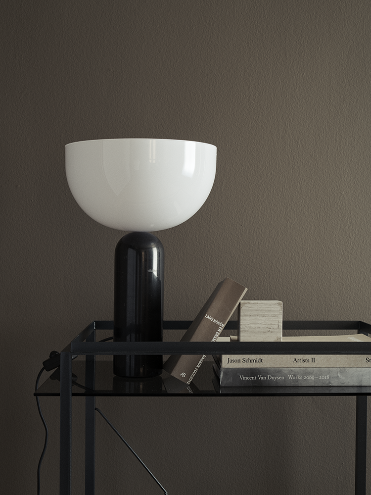 Kizu Table Lamp Black Marble Large