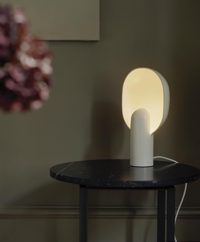 Ware Table Lamp Milk White