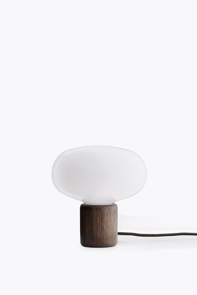 Karl-Johan Table Lamp Black Smoked Oak