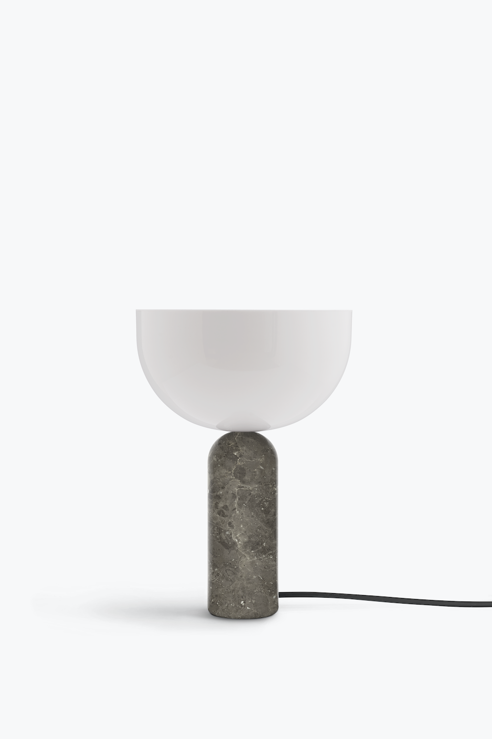 Kizu Table Lamp Gris Du Marais Marble Small
