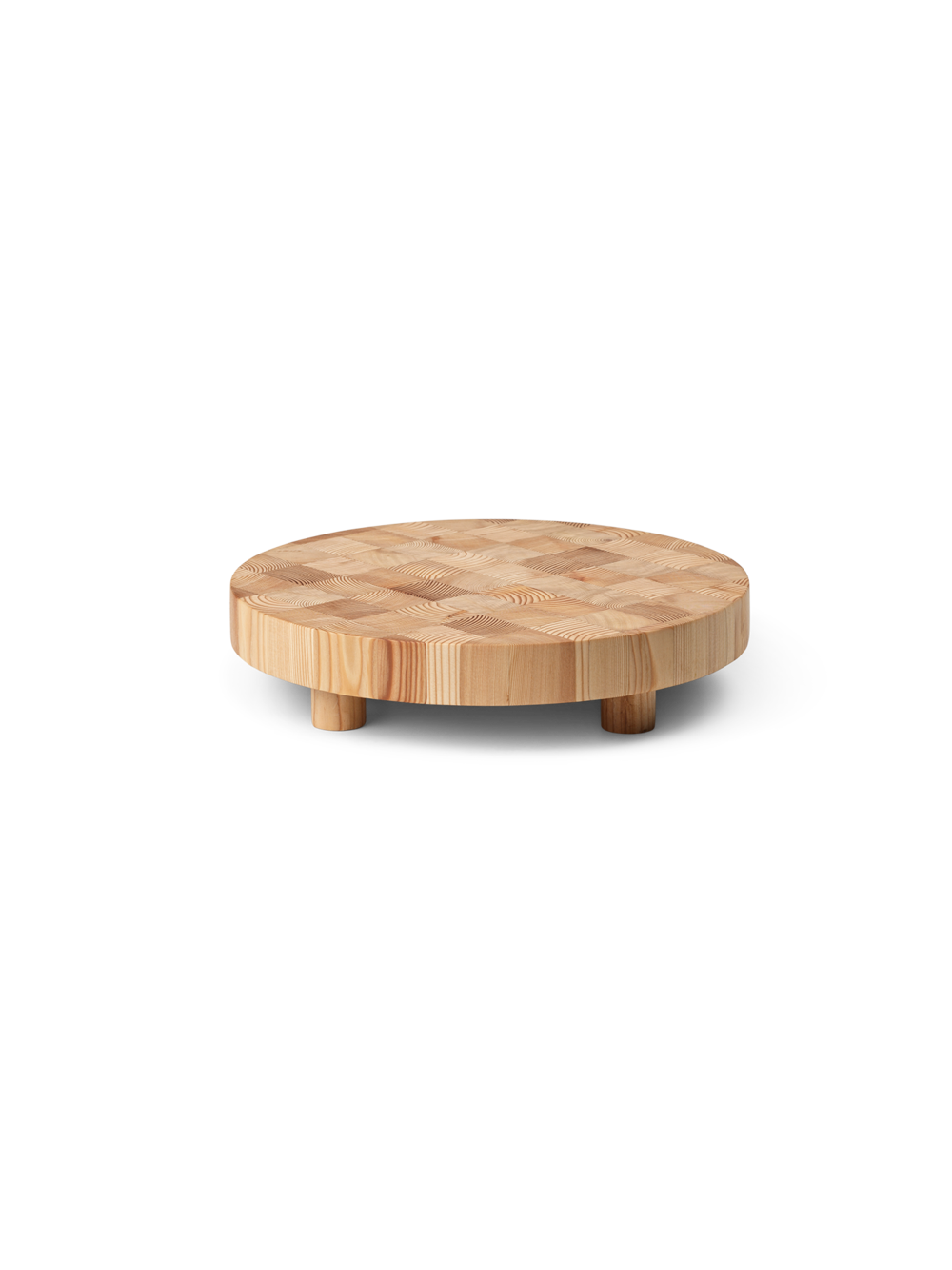 Chess Cutting Board Round Small