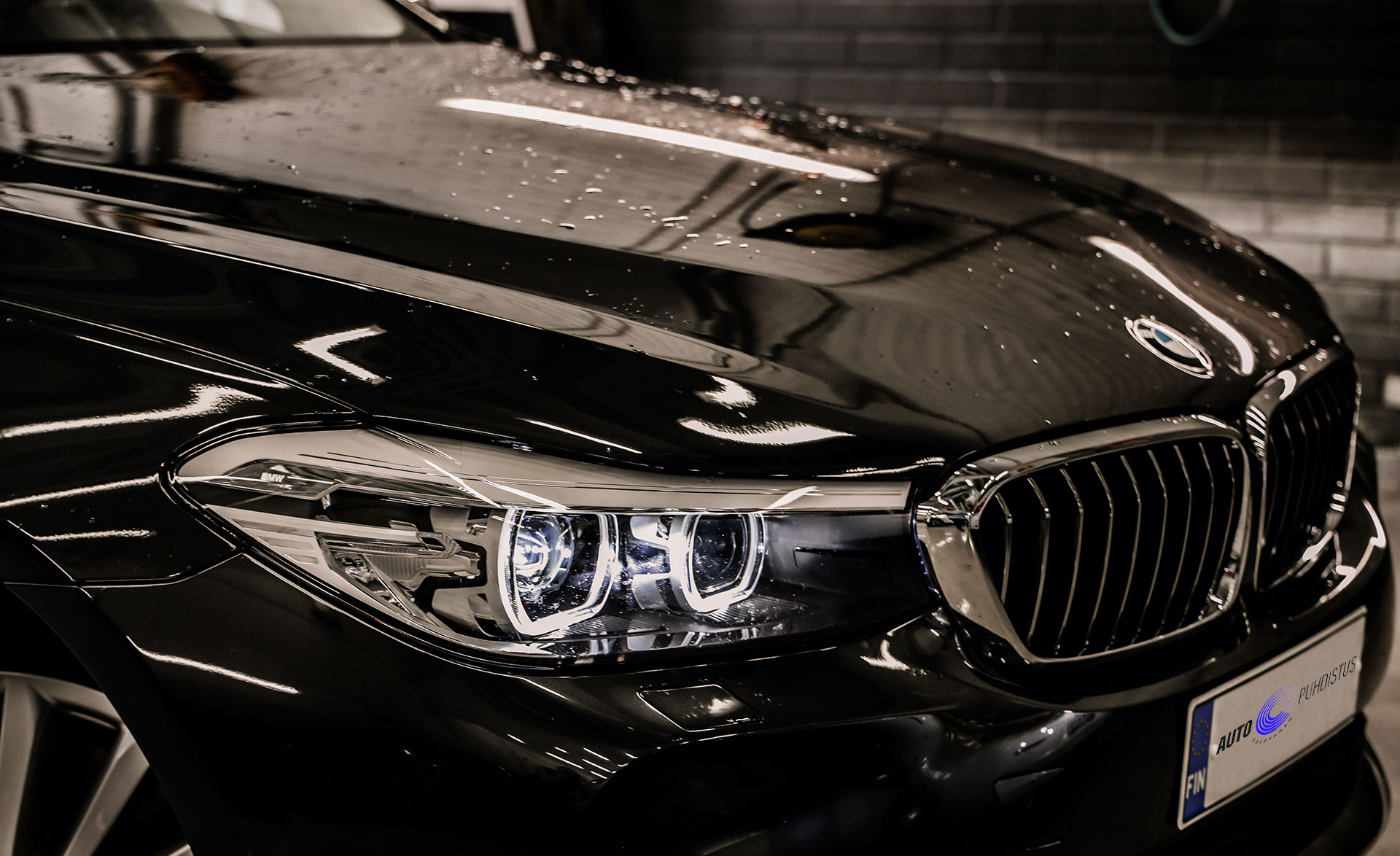 Auton täydelllinen puhdistus