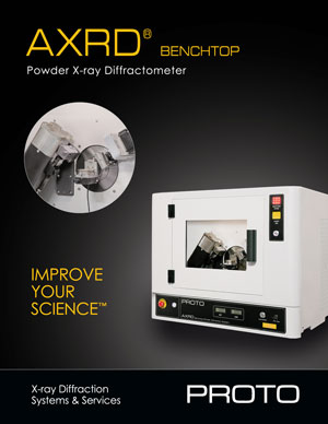 axrd benchtop powder brochure