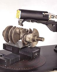 LXRD measuring a crankshaft