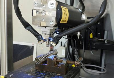 LXRD measuring a coil