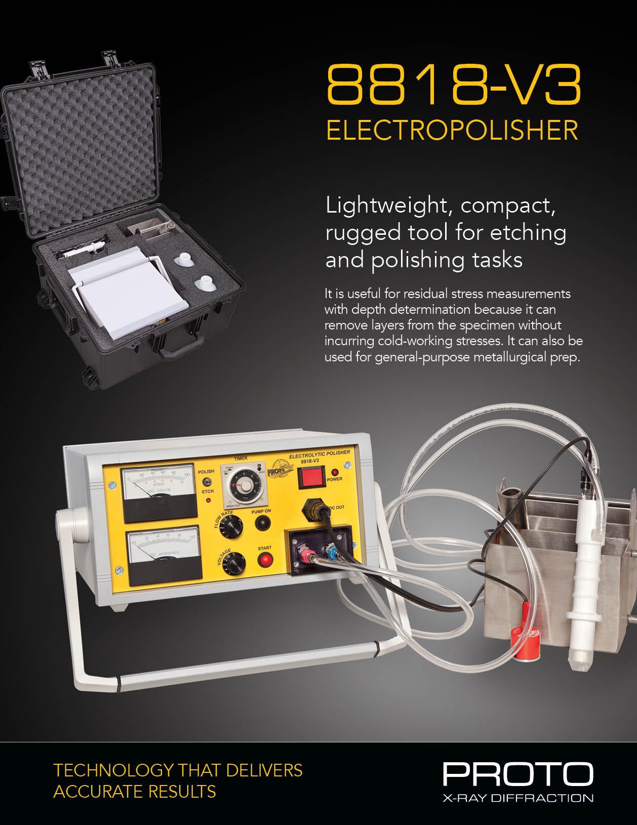 Electropolisher brochure