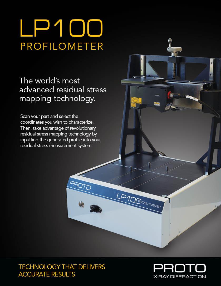 Profilometer brochure