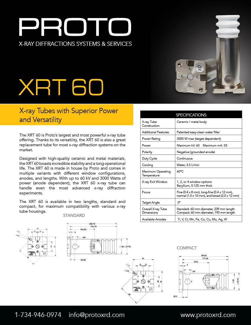 XRT60 brochure