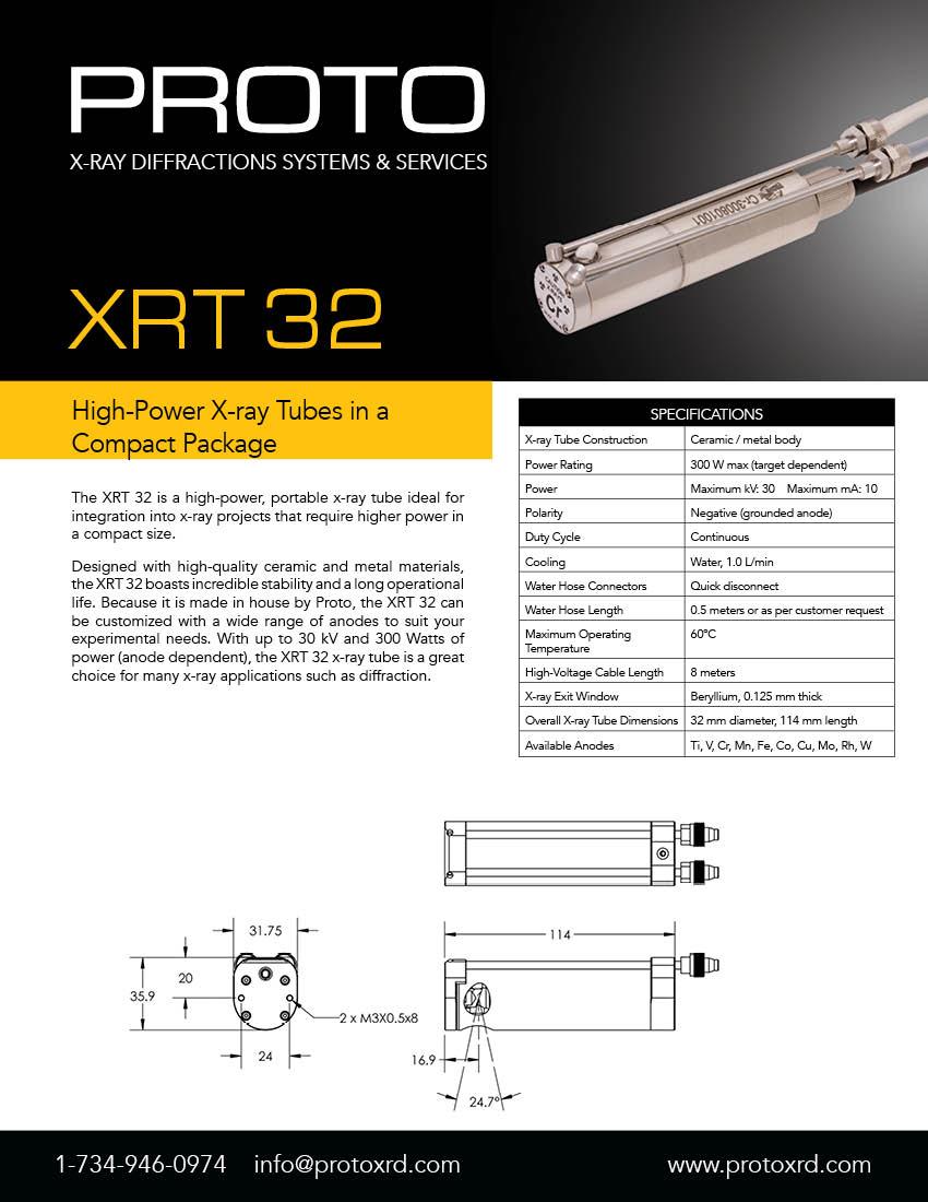 XRT32 brochure