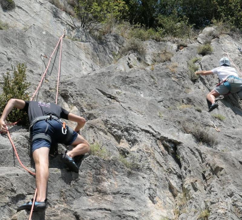 Curs d'escalada Nivell 1