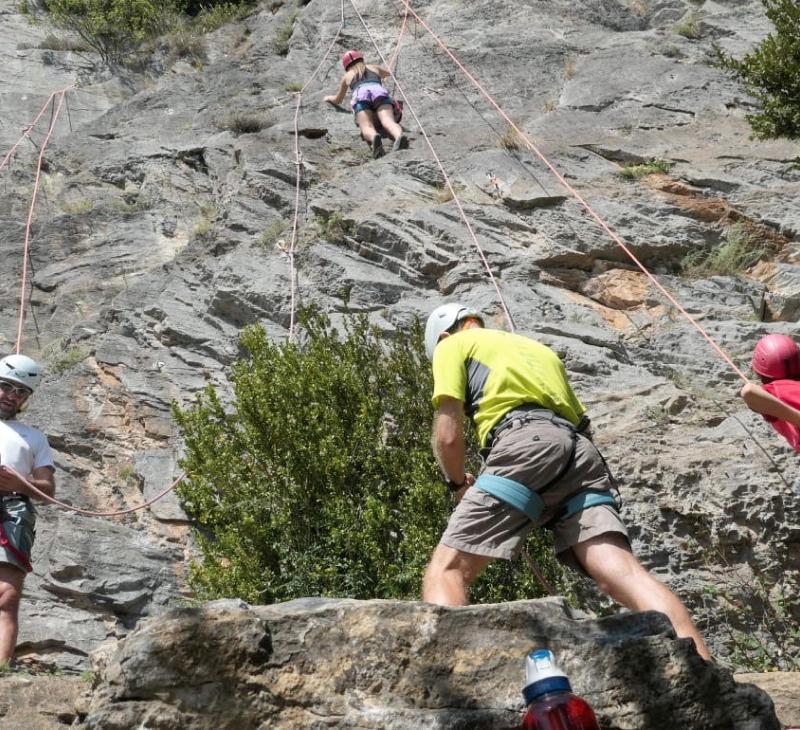 Curs d'escalada Nivell 2