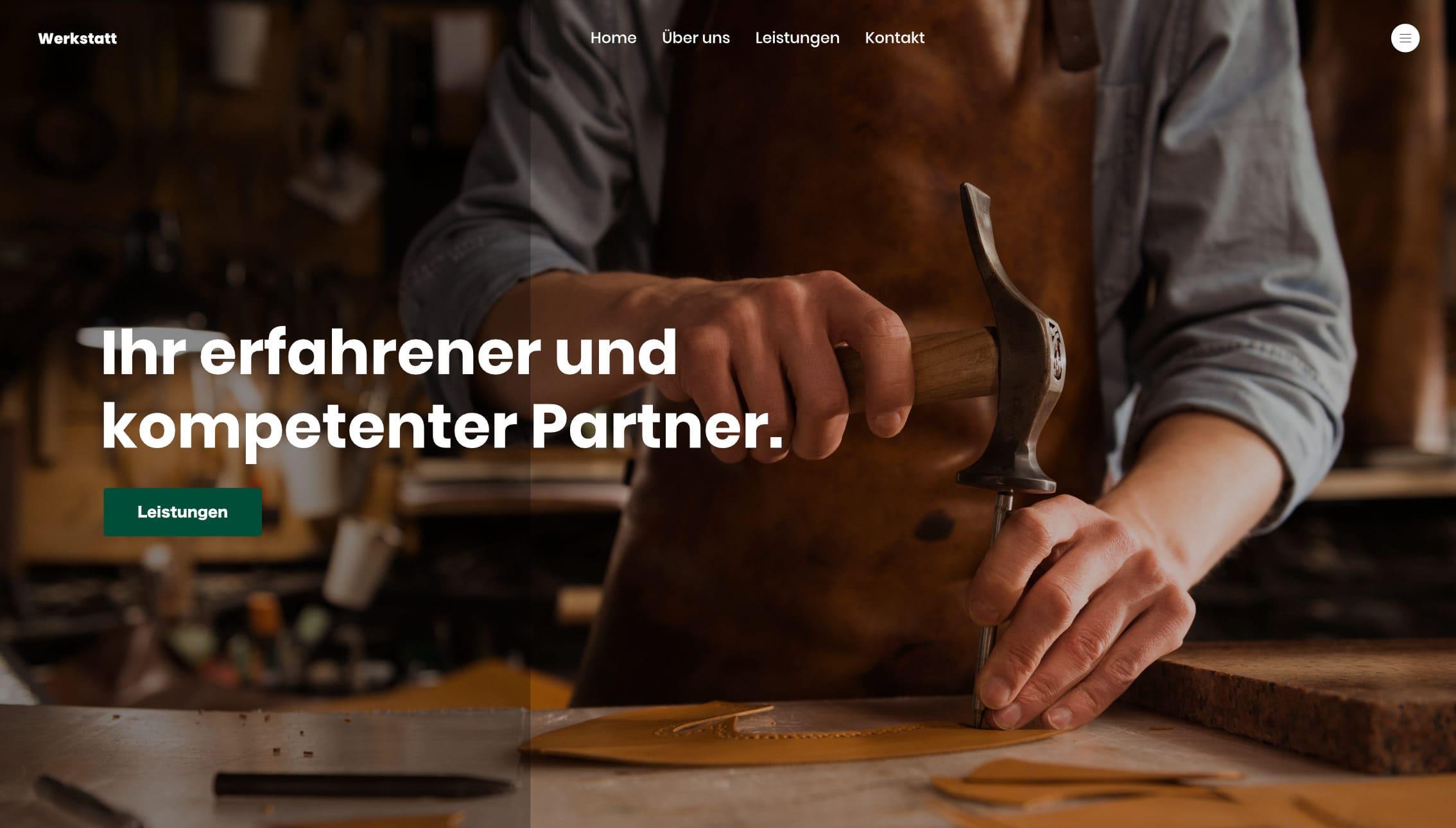 Wir erstellen deine Webseite. Desktop, Tablet und Smartphone optimiert.