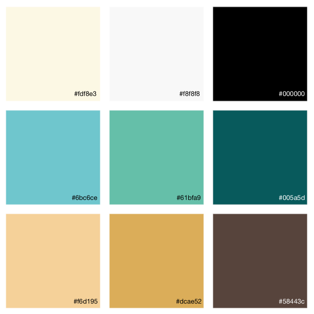 Beyim logo color palette