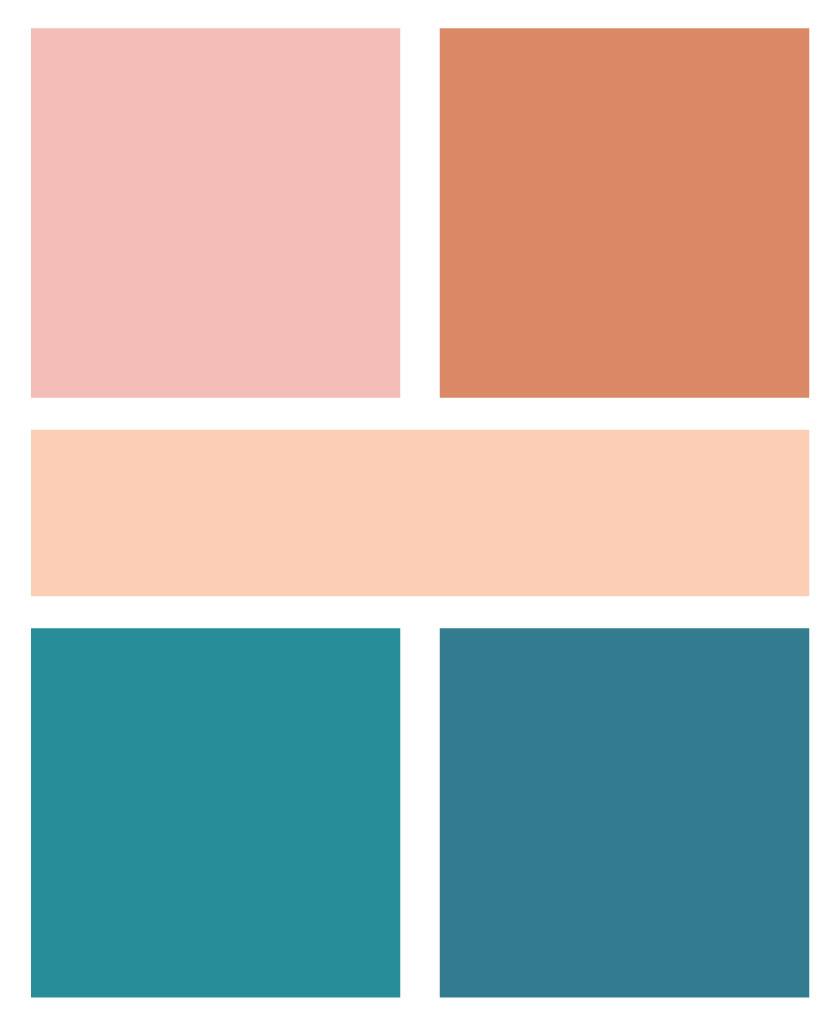 DIWifey logo colour palette