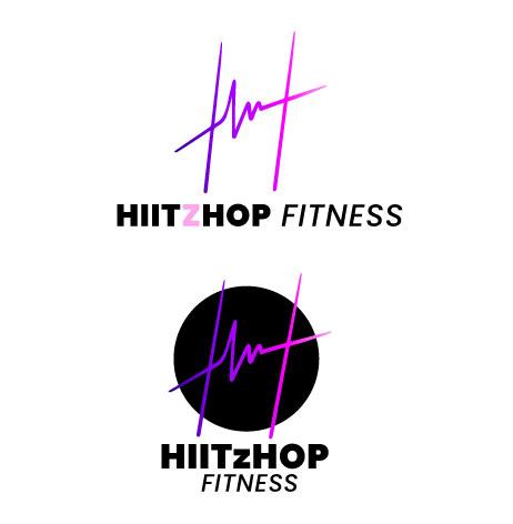HIITZHOP logo sketch #3