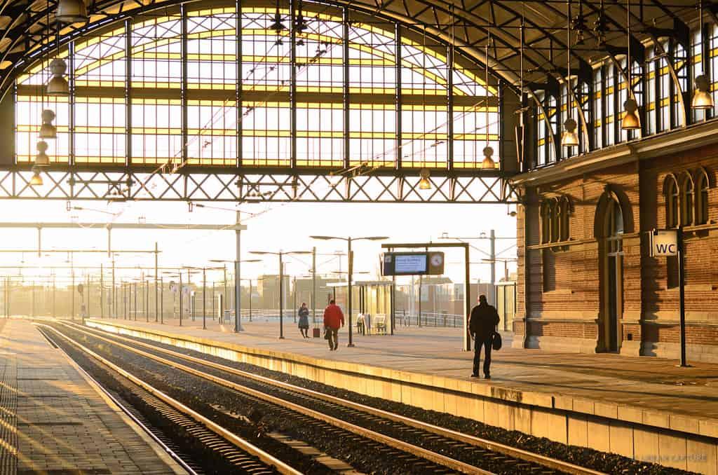 Train station Holland Spoor