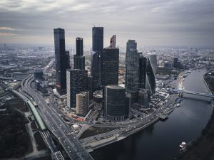 Millionaire city - Moscow - doing business in Russia