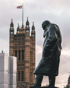 What Churchill said