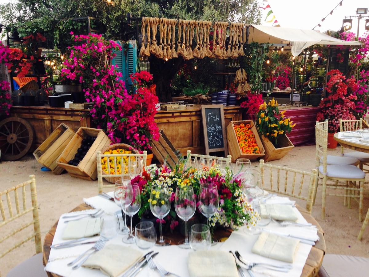 foto fiori evento privato