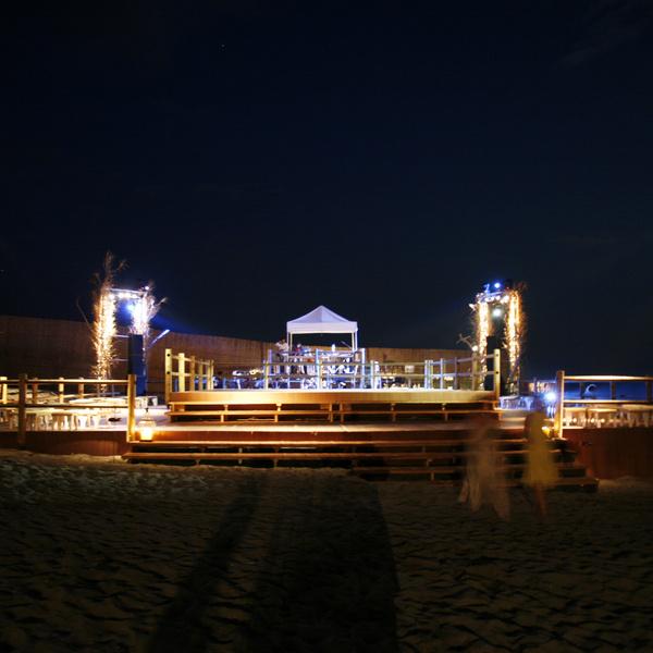 evento privato spiaggia