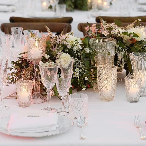 foto cena fiori
