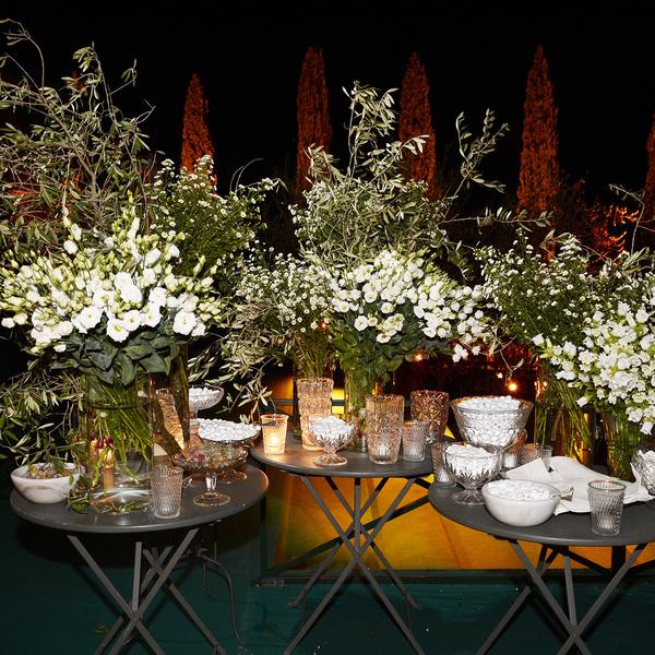 fiori evento bianchi