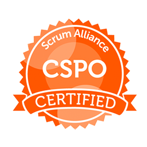 CSPO badge