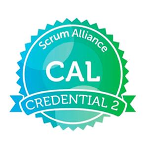 CAL 2 badge