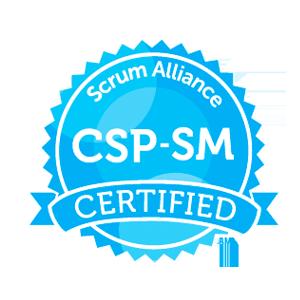 CSP-SM badge