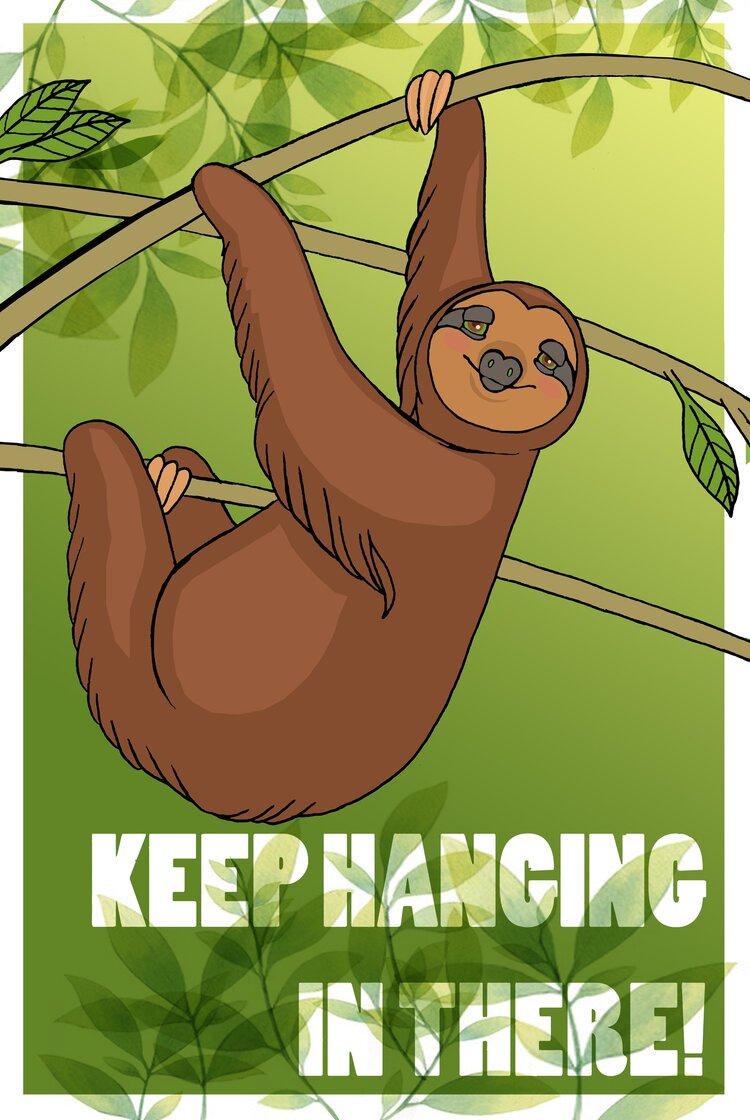 Keep Hanging in There