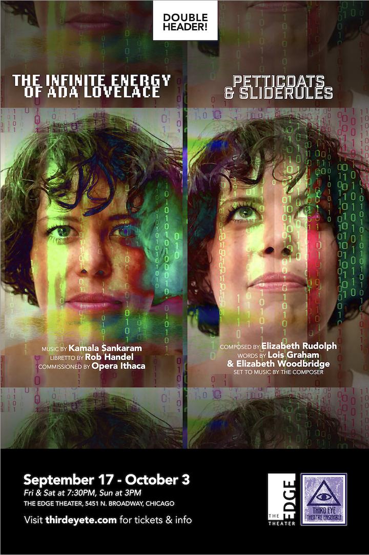Third Eye Theatre Ensemble Presents The Infinite Energy of Ada Lovelace and Petticoats & Sliderules