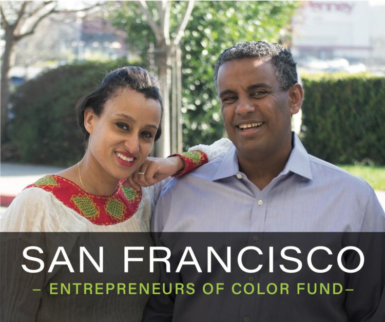 Nani and Elias of Tadu Ethiopian Kitchen in San Francisco