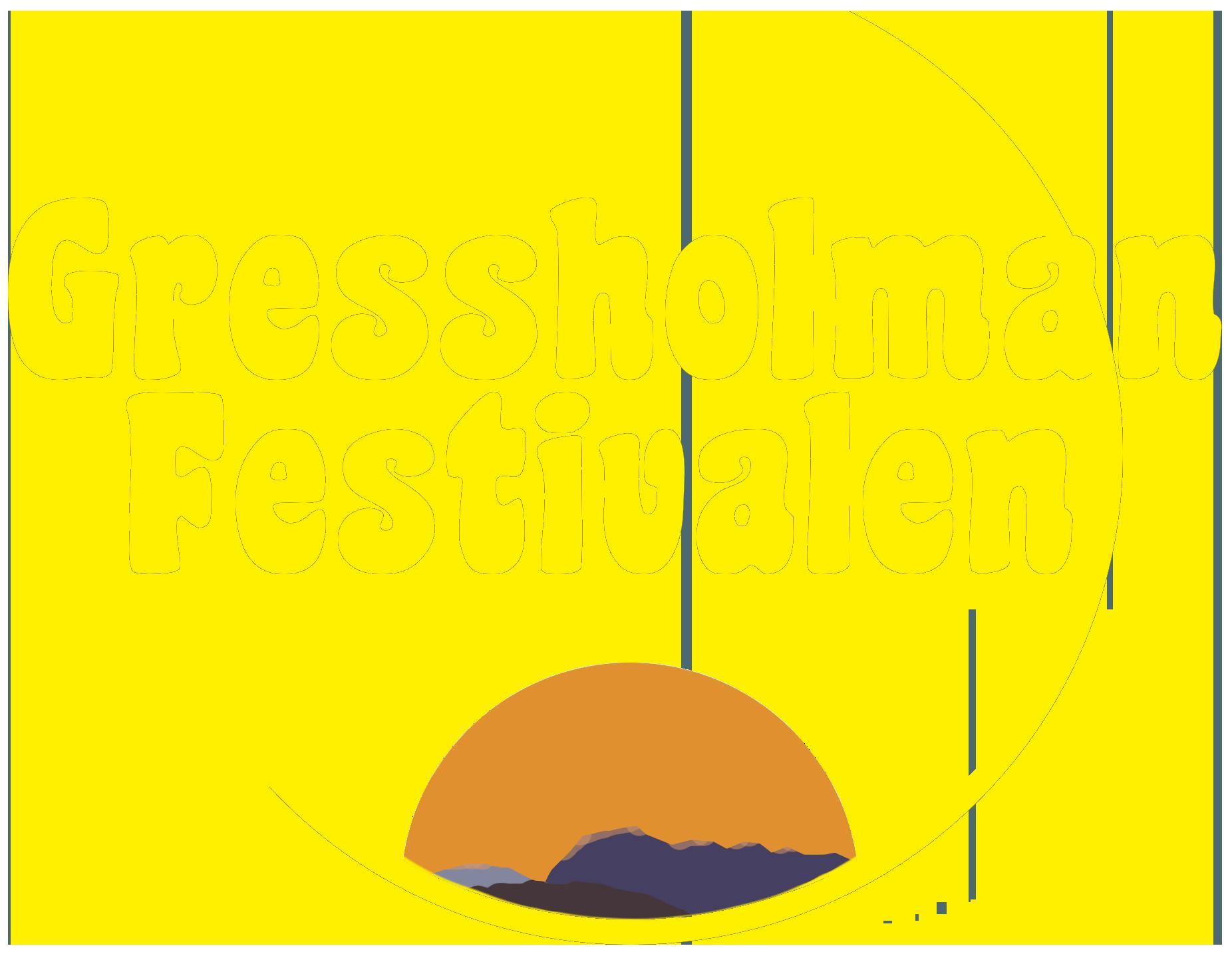 Gressholman Festivalen logo