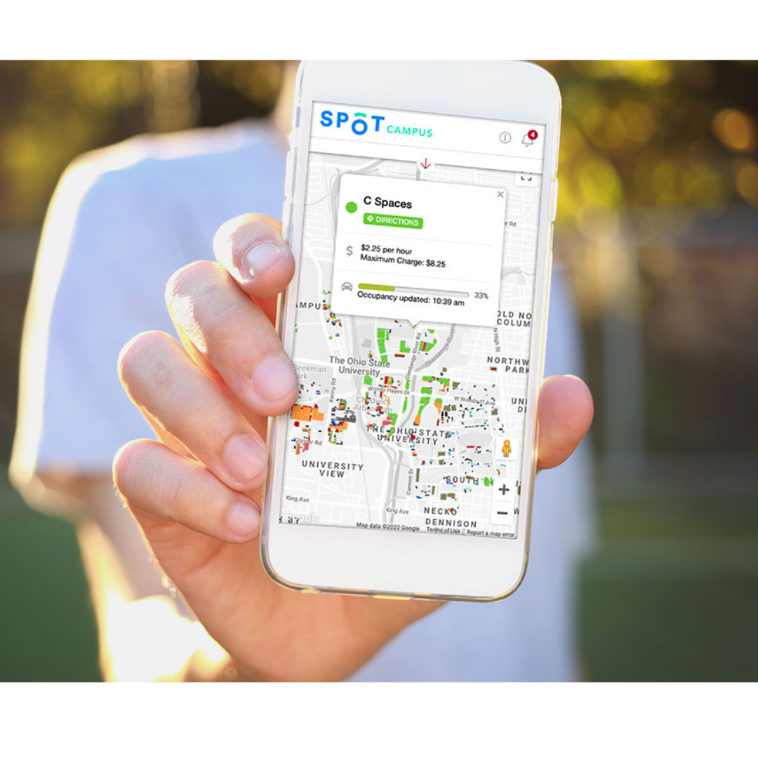 Spot Parking Insights page