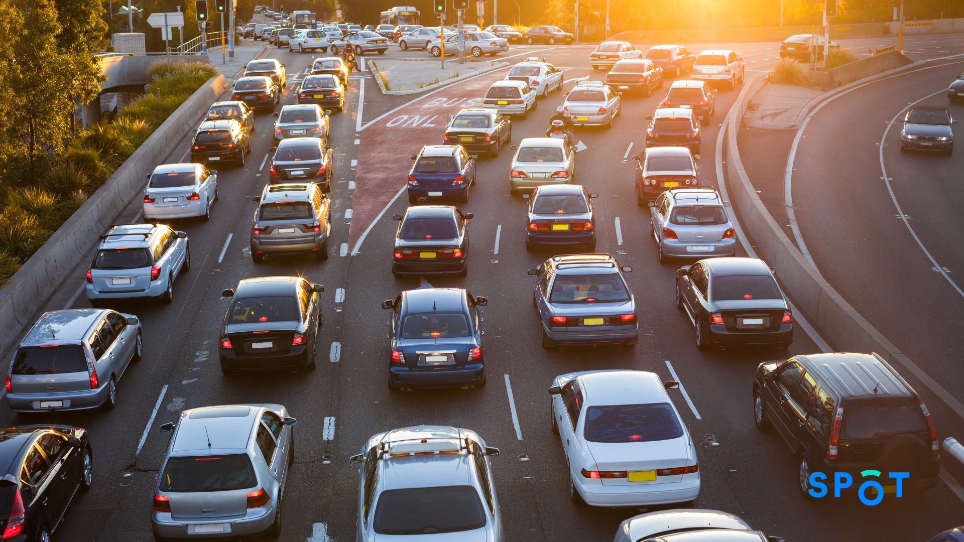 Traffic congestion can be avoided through the use of curbside data