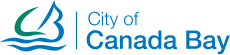 A logo of City of Canada Bay, a trusted partner from Spot Parking's Spot Cities tech