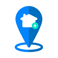 A 'facilitate' icon to represent how Spot Local features enables direct business-to-community marketing