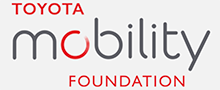 Toyota Mobility Foundation logo, a partner of Spot Parking