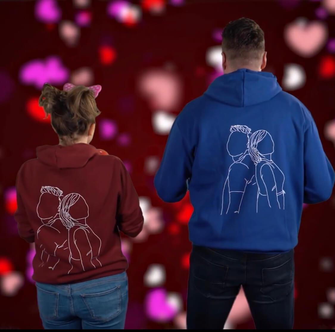 Unikatni Amie by NTN puloverji v videospotu Anje Ramšak in Roberta Roškarja.