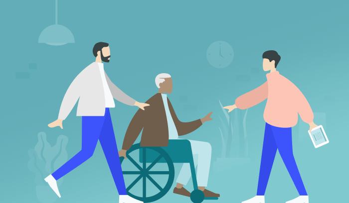 Rechtlicher Maßnahmenplan – Erstkontakt mit Pflegebedürftigen