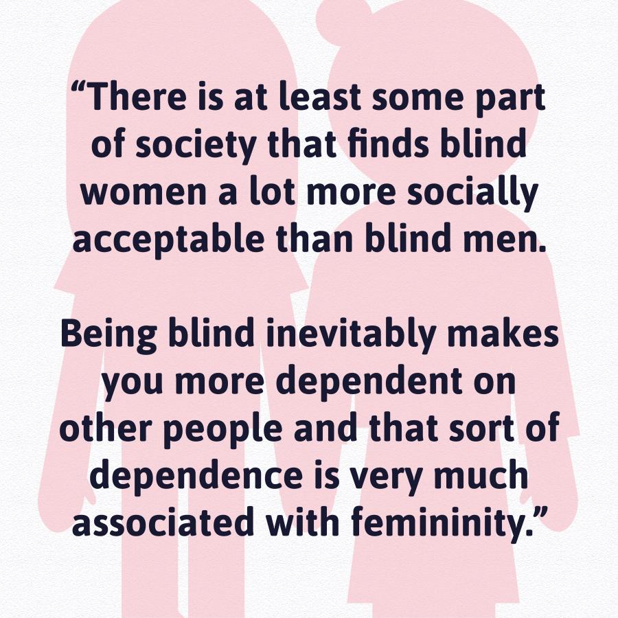 visually impairment women