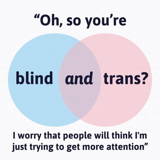 blind and trans