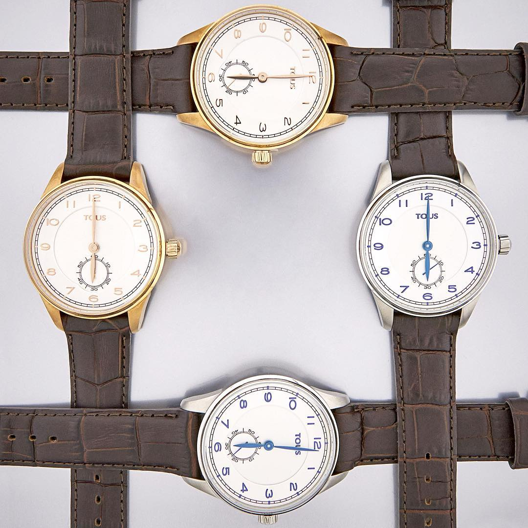 watch design Four Tous watches with white dial