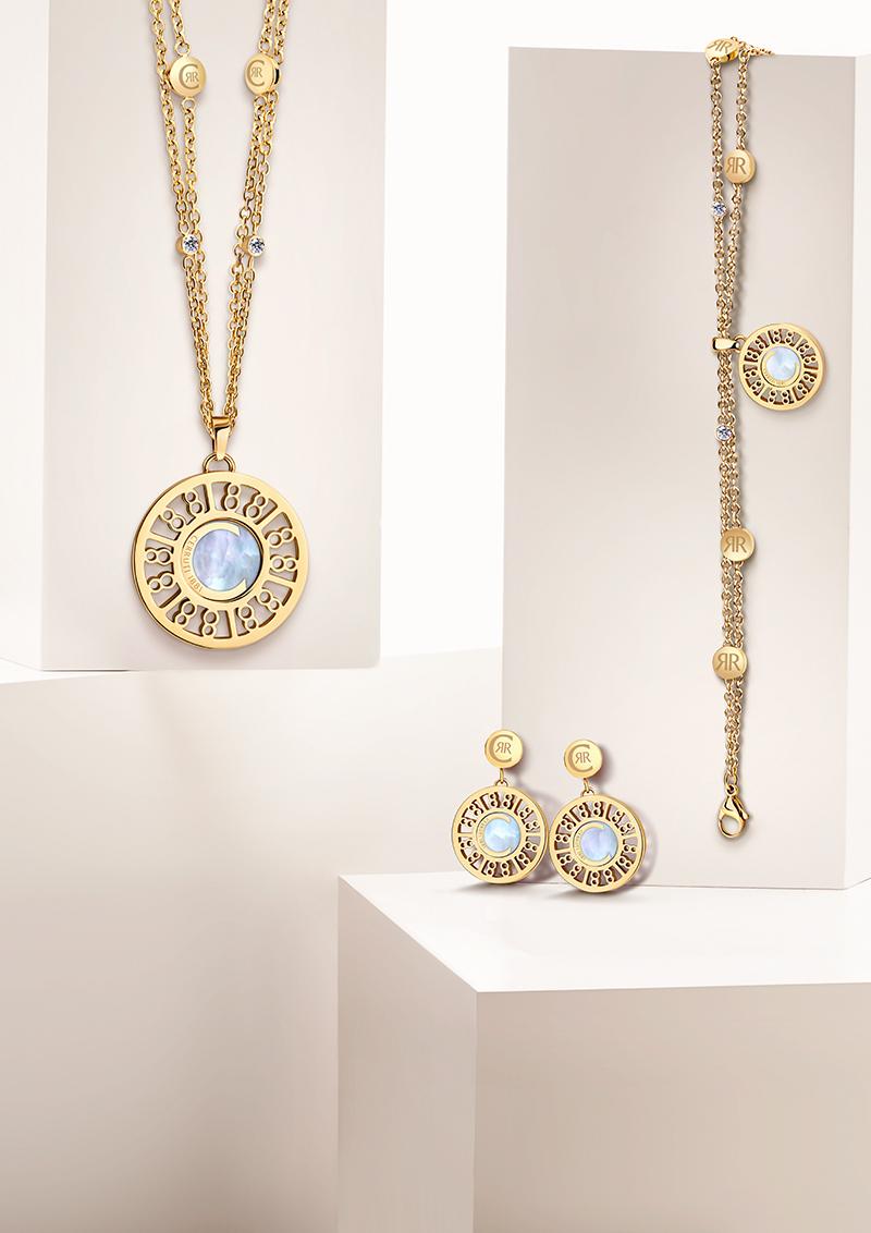 rodolphedesign bijoux cerruti 1881 doré avec nacre