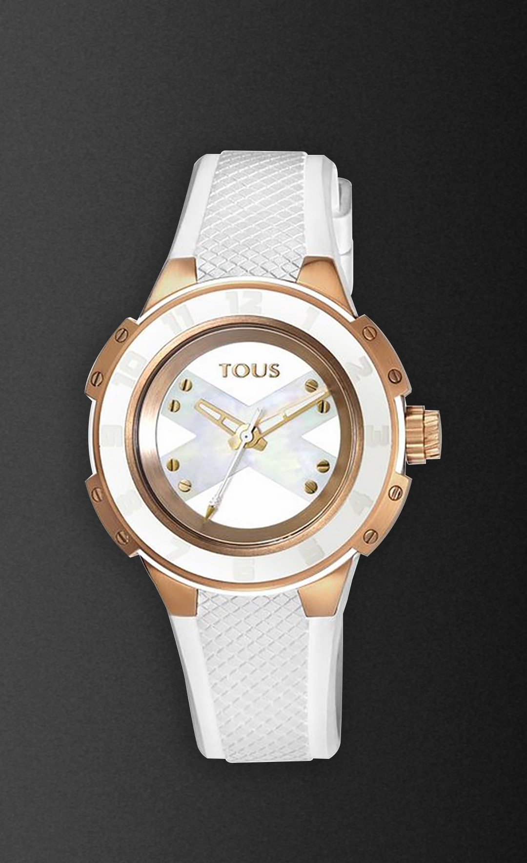 watch design Front view of the X-Tous lady watch