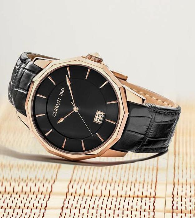 watch design rodolphedesign men gold geometric watch