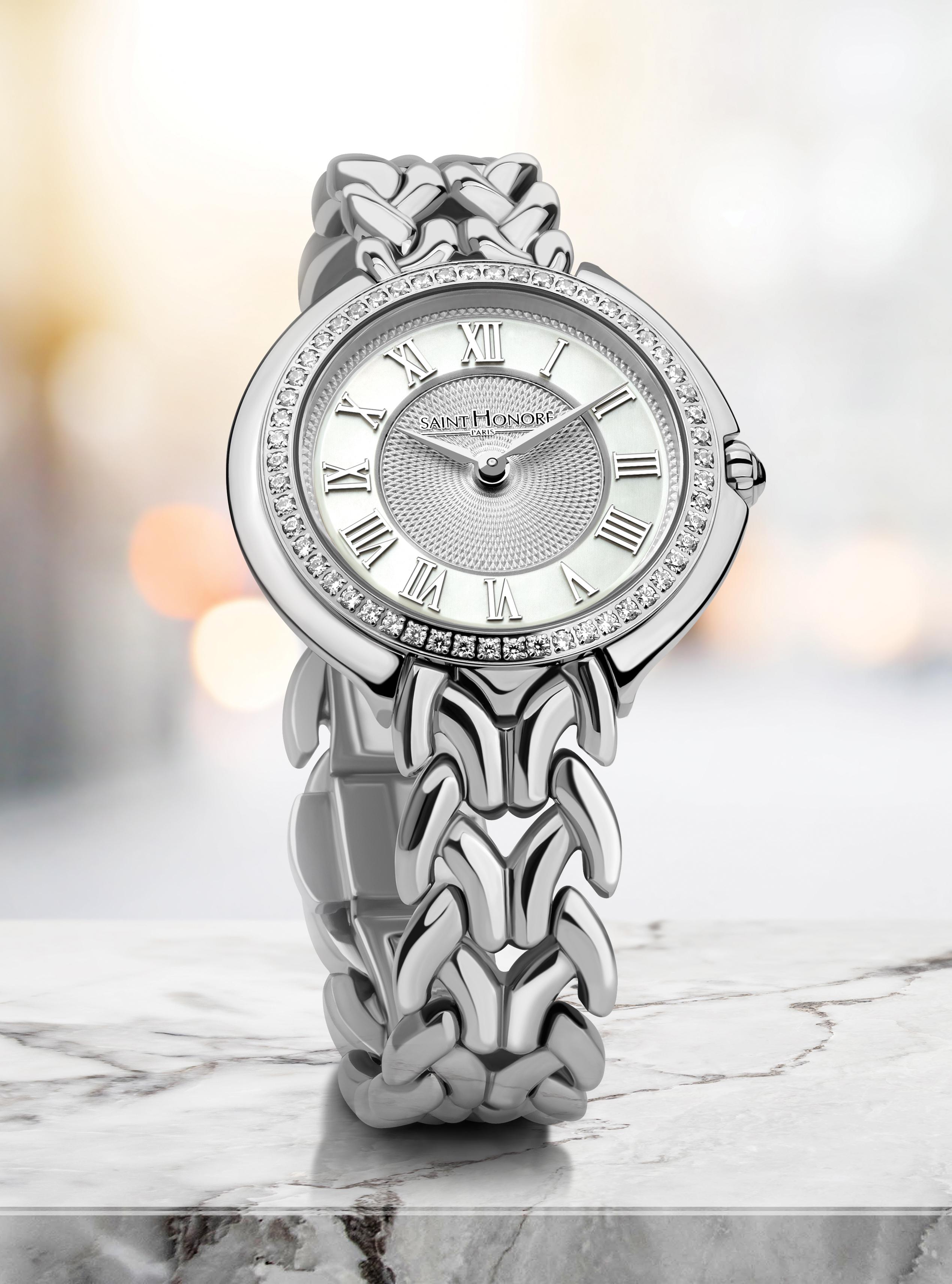watch design saint honoré men lady steel rodolphe