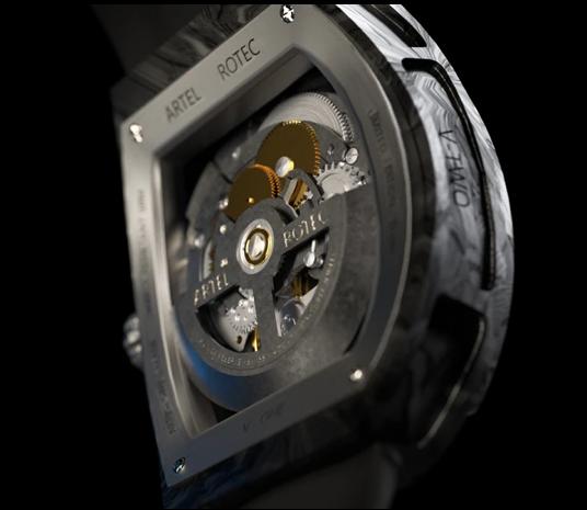 design horloger artel rotec carbone automatic
