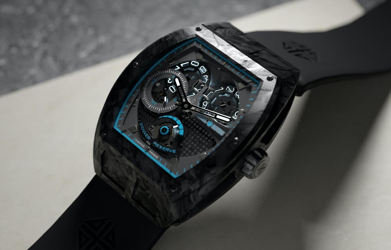 design horloger artel rotec carbone